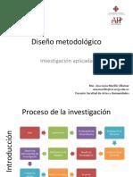 8. Diseño metodológico