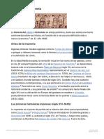 Historia de La Historieta, La Enciclopedia Libre