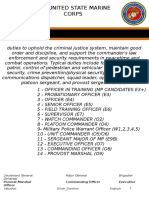 United States Marine Corps Military Police Manual