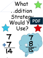 additionmathstrategiesposters