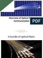 Overview of Optical Fiber Communication
