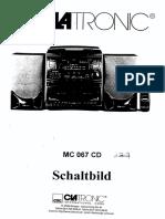 Clatronic Mc 067 CD Sm