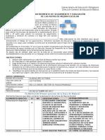 5.2 Instrumento de Seguimiento y Evaluación (Anexo 1)
