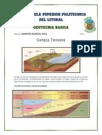 Corteza Terrestre (Rocas Volcanicas y Plutonicas)