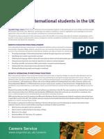 Employing International Students
