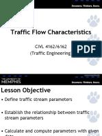 Class1 Traffic Flow Parameters v3