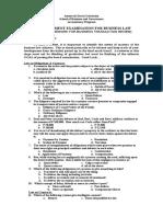 Pre_assessment Test Batch 2015_2016