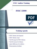 FSSC Auditor Training