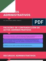 3.5 Recursos Administrativos