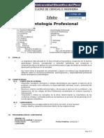 Deontologia Profesional Sílabo Ucp