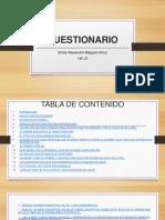 Cuestionario Powerpoint