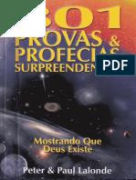 301 Provas & Profecias Surpreendentes Mostrando Que Deus Existe - Peter & Paul Lalonde