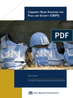 Community Based Strategies for Peace and Security (CBSPS)