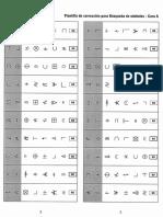 Wisc Plantilla de Correcion Para La Busqueda de Simbolos - A - b - c