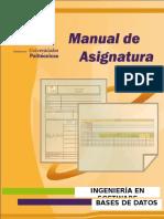 Manual de Bases de Datos