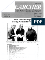 Peace Researcher Vol2 Issue12 Mar 1997