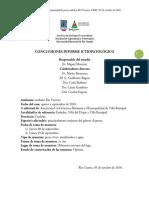 Mortandad de peces lago Embalse- Conclusiones UNRC 05-10-16