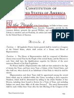 US Constitution (1787) - Exposed