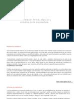 Interpretación Formal, Espacial y Simbólica de La Arquitectura.