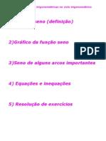 Matemática - Aula 24 - Funções trigonométricas no ciclo trigonométrico I