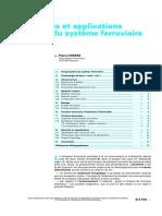 d5510-Composantes Et Applications Électriques Du Système Ferroviaire