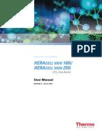 Heracell VIOS CO2 Incubator User Manual 50144132 a En