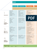Tableau des contenus - Entre nous 1 - Livre de l'élève + Cahier d'activités + CD audio
