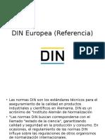 DIN Europea (Referencia)