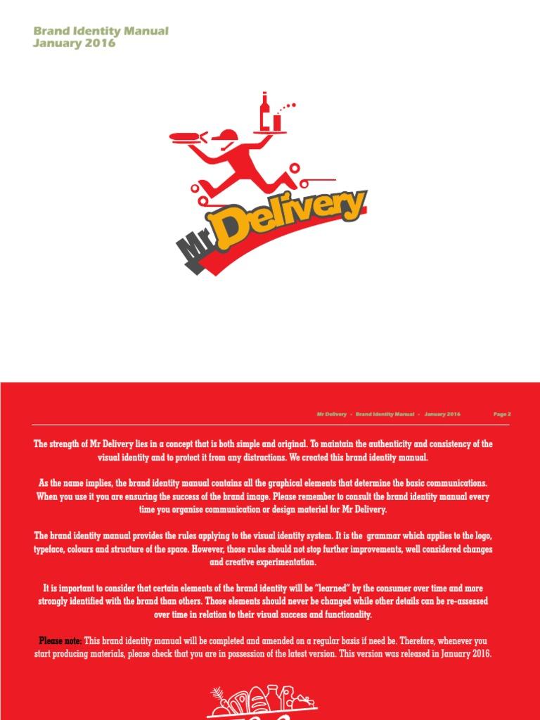 Mr delivery brand identity manual logos kebab buycottarizona