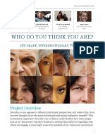 who do you think you are  project description