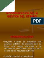 14 Marzo Modernizacion de La Gestion Del Estado