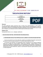 Deficiencias Motoras Díaz 2010
