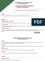 Planeación Didáctica Derecho Laboral