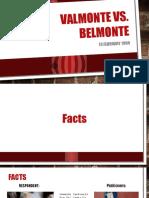 Comm 120 Valmonte vs Belmonte