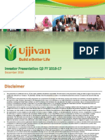 Investor Presentation Q3 FY 2016-17 [Company Update]