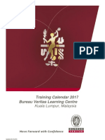 BV Malaysia Training Calendar 2017 updated 29 December 2016