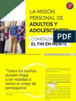 eBook 15 Comenzar Con El Fin en Mente