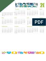 Calendario anual1