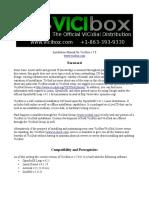 ViciBox v7 Install