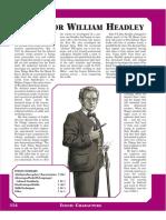 Prof William Headley