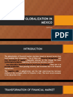 Financial Globalization in Mexico