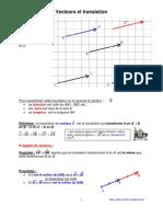 vecteurs et translation (anc prog - 3ème-)