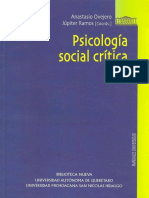Ovejero, A. - Psicología Social Crítica