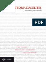 Teoria Das Elites (Nova Bibliot - De Hollanda, Cristina Buarque
