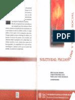 Aguado Herrera, I.; Fernández Gaos, C.; Tavera Rodríguez, M. L. (Coord.) - Subjetividad, Psicoanálisis y Teoría Social