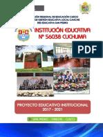 Proyecto Educativo Institucional 56038_2017-2021 Innovado
