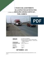 Informe Porticos Gambeta