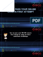 How to Pass Your 300-080 Exam in First