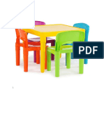 Kid and Chair Table