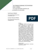 Forma Nominal No Interior Da Perifrase Verbal - Sueli Coelho